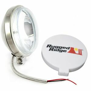 6 Inch Slim Halogen Fog Light Stainless Housing