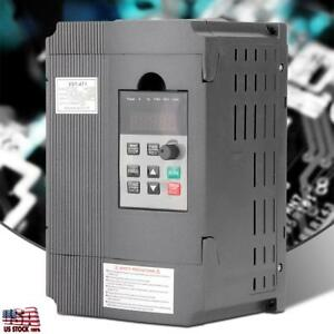 220v Single phase Variable Frequency Drive For 3 phase 1 5kw Ac Motor Hot Sale