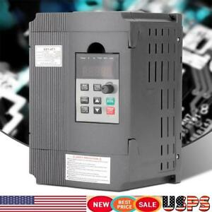 Single phase Variable Frequency Drive Vfd Speed Controller For 3 phase 1 5kw Us