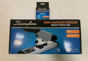 Brand New Swingline 160 Sheet Capacity Heavy Duty Stapler W 1000 Staples