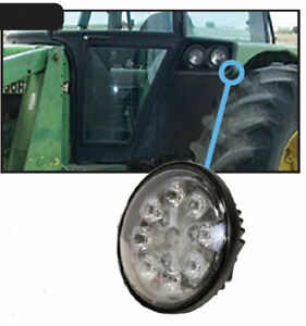 John Deere 2020 8050 Series Tractor Light Led 24w Hood fender cab Hi lo 2801