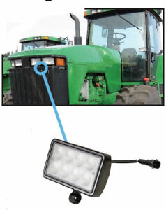 John Deere 7000 9000 Series Tractor Sprayer Windrower Light Led Hood