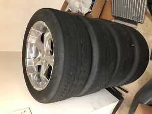 20 Wheels 6 Bolt Pattern With 31 Toyo Tires