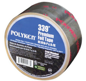 Polyken Aluminum Tape 72 Mm Width X 4 8 Mil Thickness Premium Cold Weather Tape