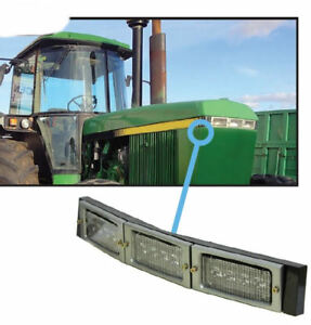 John Deere 50 55 Series Tractor Led Hood Light Conversion Kit 3140