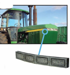 John Deere 50 60 Series Tractor Led Hood Light Conversion Kit 2914