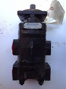 Parker 323 9120 032 Hydraulic Gear Pump Pump Is Rebuild Make A Offer