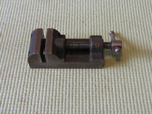 Antique Vintage Yankee No 991 Machinist Tool Small Micro Vise Nice