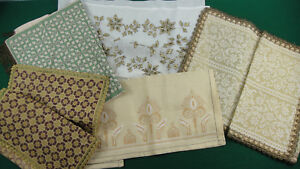 Lot Vintage Table Decoration Carpet Napkin Handiwork Needlecraft Tablecloth 82