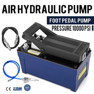 Air Powered Hydraulic Pump 10 000 Psi Pack Release Pressure Auto Repair