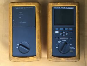 Fluke Networks Dsp 100 Lan Cable Meter Dsp sr Smart Remote Untested As Is