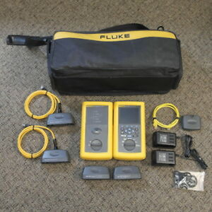 Fluke Dsp 4000 Cable Analyzer With Dsp 4000sr Smart Remote