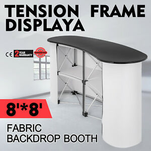 Pop Up Trade Show Display Counter Table Podium Promotion Portable Stable On Sale