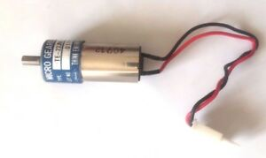 Think Engineering Co Te 22jm 12 200 Micro Geared Motor