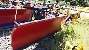 Western Ultra Mount 7 6 Ft Hydraulics Front Part Only Snow Plow Snowplow 21