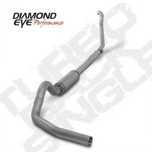 Diamond Eye K4307a Turbo back Exhaust System 94 97 Ford Powerstroke 7 3l Diesel