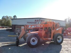 2006 Skytrak 6036 Telescopic Forklift 36 Reach Good Condition