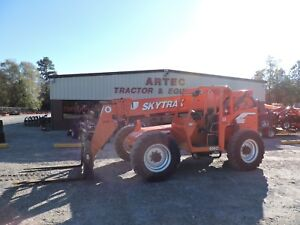 2007 Skytrak 6042 Telescopic Forklift 42 Reach Good Condition