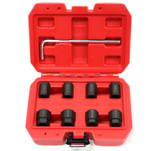 9 Pc Stud Remover Installer Thread Set M6 M8 M10 Metric No Thread Damage