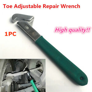 280mm Steel Car Toe Adjustable Alignment Wrench Repair Tool Auto Accessories New