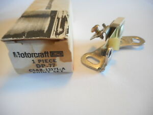 1965 1975 Ford Ignition Pivotless Distributor Contact Points Set Motorcraft Oem