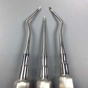 3 Pcs Dental Surgery Tools Teeth Extraction Root Tip Apical Luxating Elevator