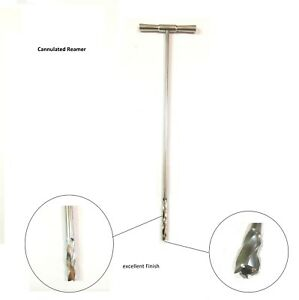 Cannulated Reamer In T Handle 10 Mm Orthopedic Instruments