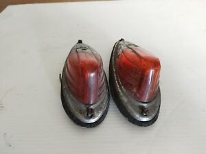 Amber Cab Clearance Lights Vintage Grote