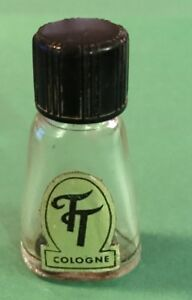 Tt Cologne Perfume Rare Antique Mini Bottle