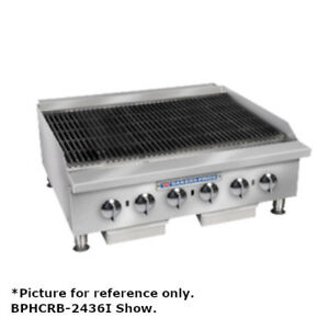 Bakers Pride Bphcb 2424i Countertop 24 Heavy Duty Gas Radiant Charbroiler
