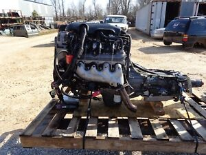 2003 Chevrolet 4 8 Lr4 Vortec Engine And 2wd 4l60e Transmission camaro nova