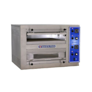 Bakers Pride Eb 2 2828 Double Deck Countertop Electric Pizza Deck Oven