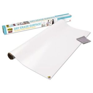 Post it Dry Erase Surface 4 X 3 Instant Whiteboard Walls Tables Desks Sticky