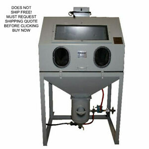 Cyclone Dp 38 Direct Pressure Pot Media Abrasive Sand Blast Cabinet