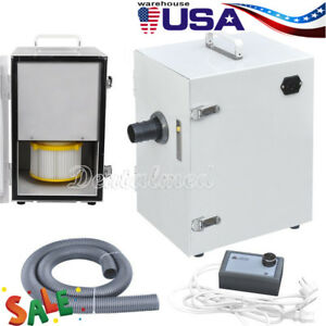 Usa Dental Lab Single row Dust Collector Vacuum Cleaner Protect Air Low Noise