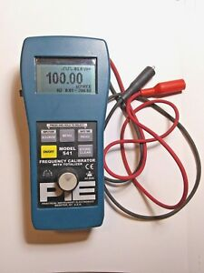 altek Omega Pie Model 541 Frequency Calibrator Totalizer Professional Accuracy