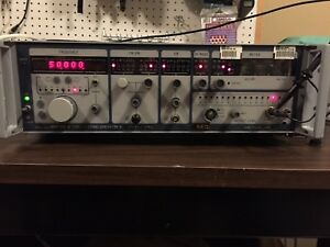 Adret 7100a 300khz 1 3ghz Fm Pm Am Signal Generator Solid Tested