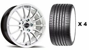 18 S Fx004 Alloy Wheels Tyres Fits Ford Focus Mondeo C S Max Edge Kuga 5x108