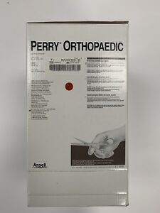 New Box 50 Pairs Ansell Perry Orthopaedic Brown Latex Surgical Gloves Size 7 5