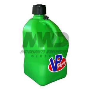 Vp Racing Green 5 Gallon Square Fuel Jug utility Water Container jerry Gas Can