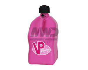 Vp Racing Pink 5 Gallon Square Fuel Jug utility Water Container jerry Gas Can