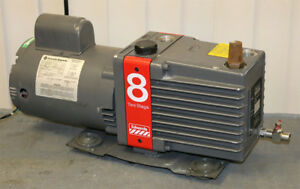 Edwards E2m8 Rotary Vane Two stage Vacuum Pump Guaranteed Working