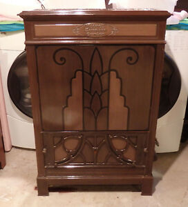 Vintage Antique Moore S Brothers Co Parlor Gas Stove Heater Furnace