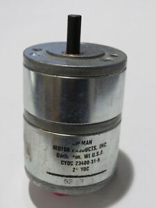 Barber Colman Model Cyqc 23400 31 5 Gear Motor