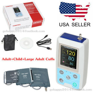 Usa Nibp Ambulatory Blood Pressure Monitor Abpm50 adlut child large Adult Cuffs