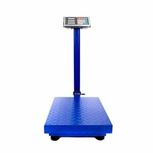 660lbs Weight Computing Digital Floor Platform Scale Postal Shipping