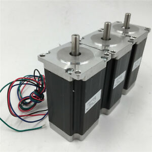 Nema23 Stepper Motor 1 8nm 255oz in 3a 2phase 4wire For Cnc Router Engraving