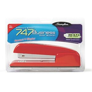 Acco International Inc Swingline 747 Stapler Red Rio set Of 3