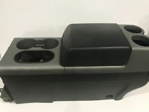 2004 2008 Ford F150 Floor Center Console Armrest Cup Holders 1129