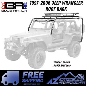 Body Armor 4x4 1997 2006 Jeep Wrangler Lj Roof Rack Free Shipping